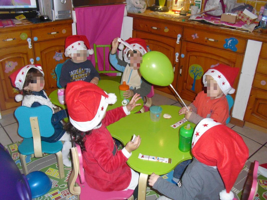 Goûter de Noel